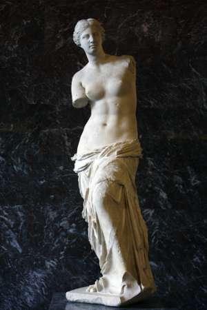 La Venere di Milo, immagine utilizzata per uso di critica o di discussione ex articolo 70 comma 1 della legge 22 aprile 1941 n. 633