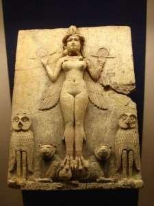 """La """"Regina della Notte"""" rappresenta un'antica dività babilonese, forse Ishtar o la terribile Lilitu - Immagine in pubblico dominio, fonte Wikipedia"""