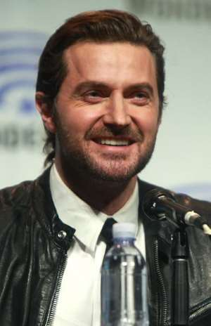 L'attore Richard Armitage, immagine rilasciata sotto licenza Creative Commons Attribution-Share Alike 2.0 Generic, fonte Wikimedia Commons, autore Gage Skidmore